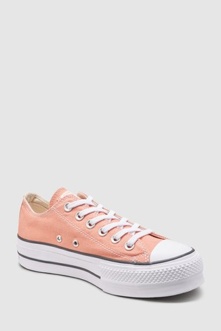 f6037ae2c5ff7 Buy Converse Orange Chuck Lift Trainer from Next Germany