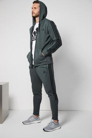 Zelena Hlače za prosti čas adidas 3 Stripe Tiro ... e05facd128