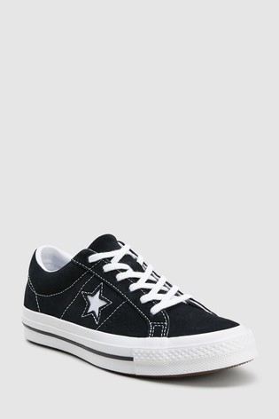 bf81048ce95cdc Buy Converse Youth Black White One Star Youth from Next Ireland