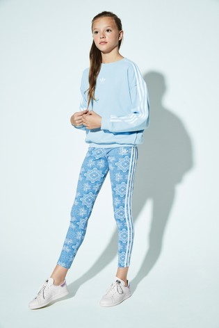 7f2332e7f0b7 Buy adidas Originals Clear Sky Trefoil Crew from the Next UK online shop