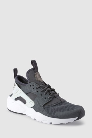huge selection of f0c09 99aa7 Black Teal Nike Huarache Youth ...