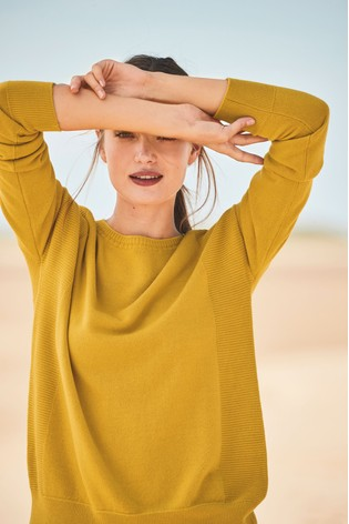 854413a1df35 Buy Ochre Cosy Boat Neck Jumper from the Next UK online shop