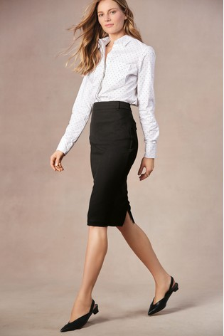017d73506973e Buy Black Tailored Fit Pencil Skirt from the Next UK online shop