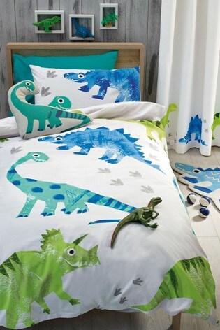 b8376b8b586b Buy Ben The Dino Duvet Cover and Pillowcase Set from the Next UK ...