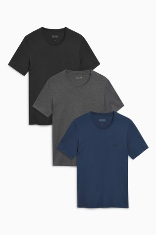 2a32aa9dd7 Buy BOSS T-Shirts Three Pack from the Next UK online shop