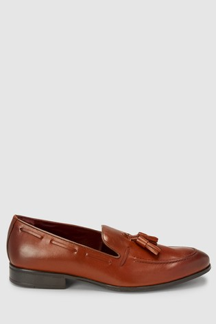 c4b620ea63d Buy Tan Signature Tassel Loafer from the Next UK online shop