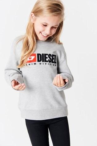 a8a1889c Buy Diesel® Kids Logo Sweatshirt from the Next UK online shop