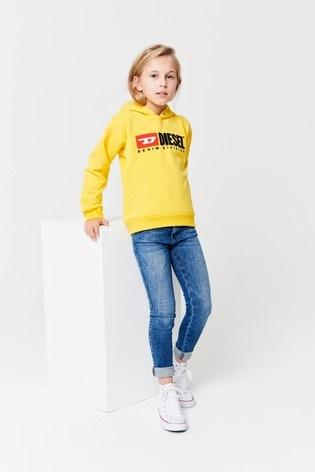 3b5cf741 Buy Diesel® Kids Logo Hoody from the Next UK online shop