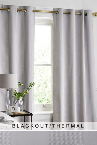 Buy Cotton Waffle Blackout Lined Curtains From The Next Uk