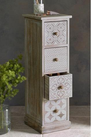 Buy Tile Print Drawers from Next Lebanon