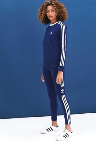 afc78c0f Buy adidas Originals 3 Stripe Long Sleeved T-Shirt from Next Ireland