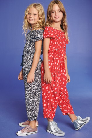 c39660c1b62 Buy Black Viscose Playsuit (3-16yrs) from the Next UK online shop
