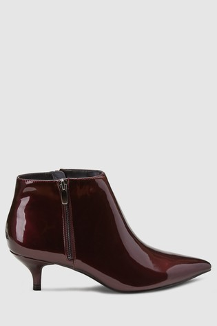 2fda4a2be98 Buy Berry Patent Kitten Heel Ankle Boots from the Next UK online shop
