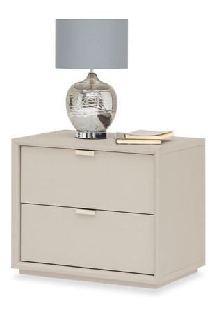 7c4df81ae12213 Buy Mode 2 Drawer Bedside Table from the Next UK online shop