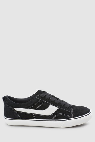 Buy Black Suede Lace-Up Trainers from the Next UK online shop 4ba68a36c