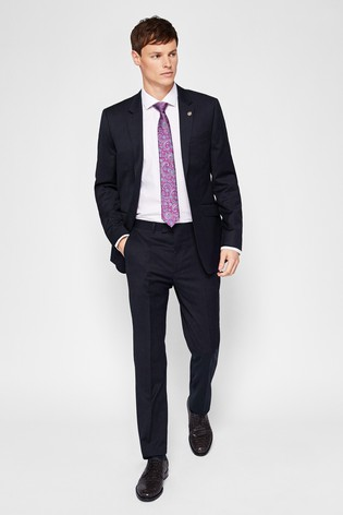 989e4aceb Buy Ted Baker Navy TimzonJ Suit  Jacket from the Next UK online shop