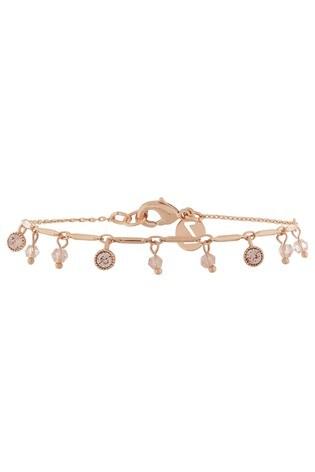 Buy Z for Accessorize Rose Gold Stone Charm Swarovski