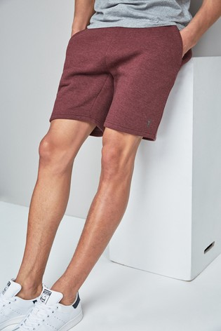 more photos 0f55d daeff Buy Burgundy Marl Jersey Sweat Shorts from Next Cyprus