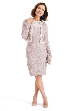 153e7e8e5b4 Buy Phase Eight Pink Jana Tapework Jacket from the Next UK online shop