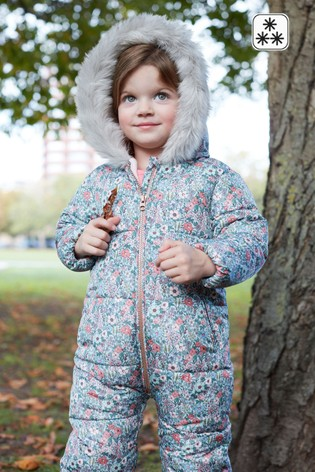 3f3fa7c91 Buy Pink Ditsy Floral Snowsuit (3mths-6yrs) from the Next UK online shop