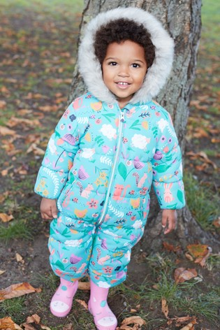 7594e553c Buy Jade Multi Printed Shower Resistant Snowsuit (3mths-6yrs) from ...