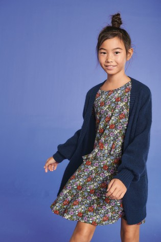 7a464dd7b Buy Navy Cosy Cardigan (3-16yrs) from Next Gibraltar