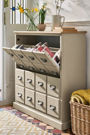 Buy Huxley Painted Shoe Storage from Next Cyprus