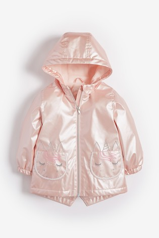 e16584dd Buy Pink Rainbow Sequin Pocket Jacket (3mths-7yrs) from the Next UK ...