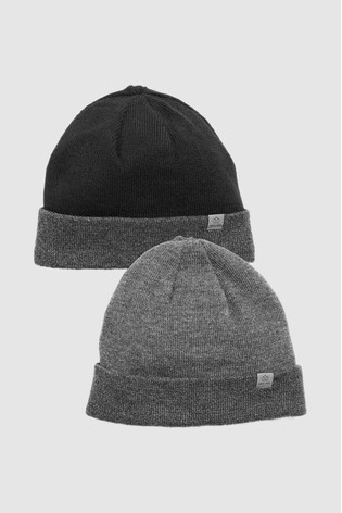 Buy Black Grey Thinsulate® Hats Two Pack from the Next UK online shop 84f606ad8f5