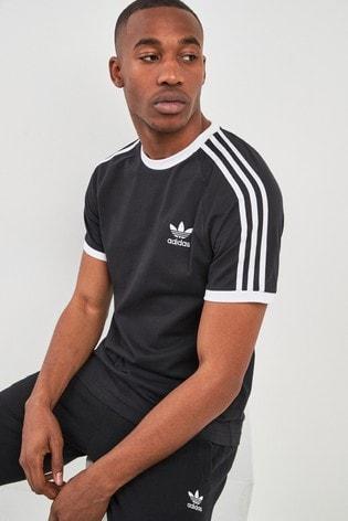 325521dbd3 Buy adidas Originals 3 Stripe California T-Shirt from the Next UK ...