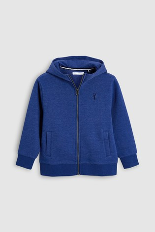 3534ced235d Buy Cobalt Blue Zip Through Hoody (3-16yrs) from Next Ireland