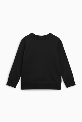 9cd1a9096cf8 Buy Black Crew Neck Sweater (3-16yrs) from the Next UK online shop