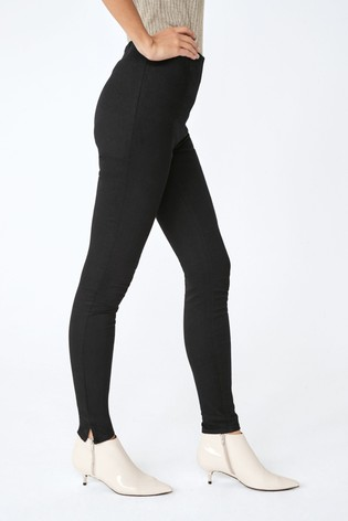 new high new product dependable performance Buy Black Ankle Length Denim Leggings from Next Bahrain