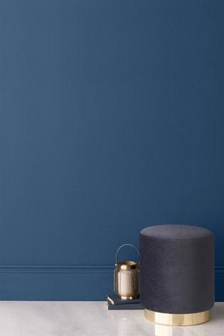 fb78eafae2af44 Buy Indigo Blue Matt Emulsion 2.5Lt Paint from the Next UK online shop