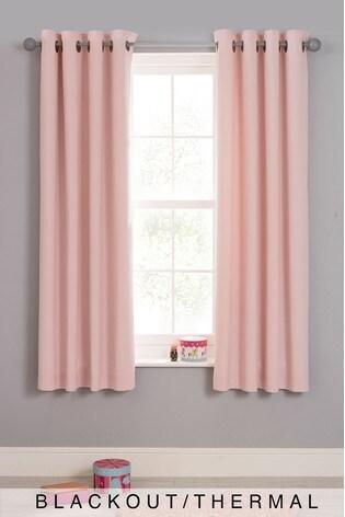 Buy Plain Dye Blackout Eyelet Curtains From The Next Uk