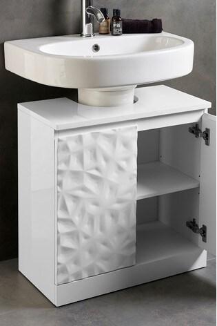 Buy Mode Textured Under Sink Storage From The Next Uk Online Shop