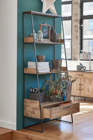 Buy Jefferson Rustic Storage Ladder Shelf From The Next Uk Online Shop