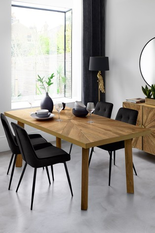 Buy Sunburst 6 Seater Dining Table From The Next Uk Online Shop
