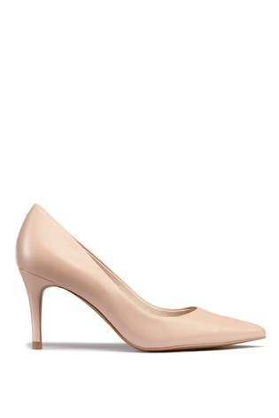 be02d3a1d Buy Nude Leather Courts from Next Russia