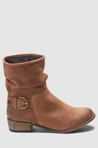 1ea12c9aaee9 Buy Tan Slouch Ankle Boots from the Next UK online shop
