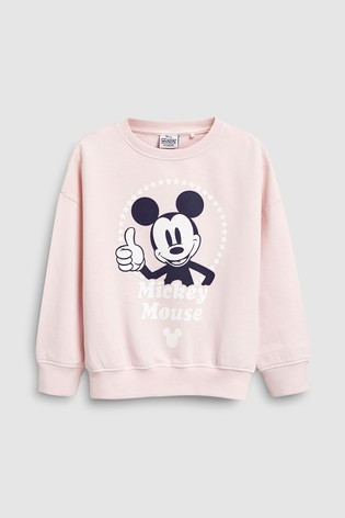 57c316b81b69 Buy Pink Mickey Mouse™ Crew (3-16yrs) from Next Lebanon