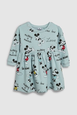 2e4dc2b22cfe from Next Slovakia Buy Blue Minnie Mouse™ Sweat Dress (3 mes. – 7 rok.)