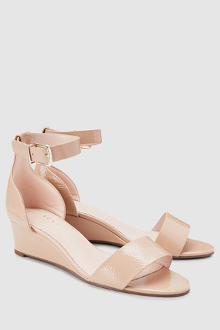 2de596718 Buy Nude Forever Comfort® Simple Wedges from the Next UK online shop