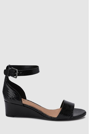 feebf23550c8 Buy Black Forever Comfort® Simple Wedges from the Next UK online shop