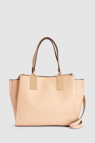6a0e0c236a2c Buy Nude Hardware Detail Tote Bag from the Next UK online shop