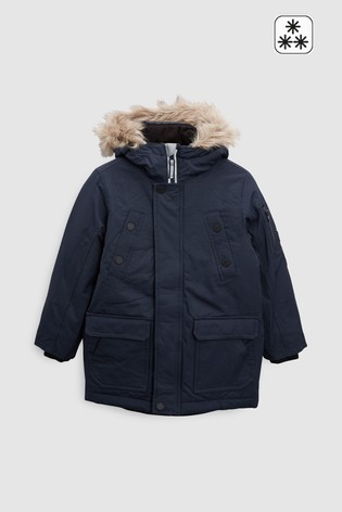 d622512ee949 Buy Navy Parka Jacket (3-16yrs) from the Next UK online shop