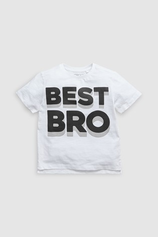 34a550a2 Buy White Short Sleeve Graphic T-Shirt (3-16yrs) from the Next UK ...
