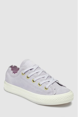 Buy Converse Youth Frill Chuck Ox Trainer from the Next UK online shop e915070549