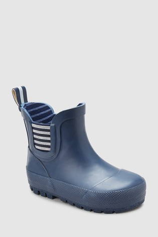 Buy Navy Chelsea Boot Wellies (Younger) from Next Saudi Arabia