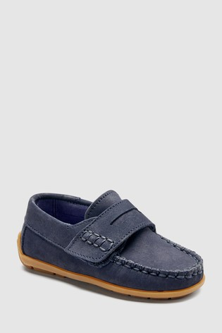 a285e5a1c8d Buy Navy Penny Loafers (Younger) from the Next UK online shop